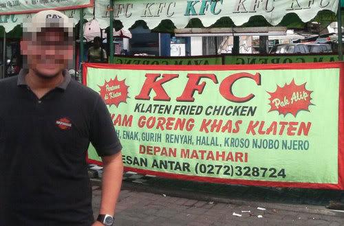 KFC ala indonesia