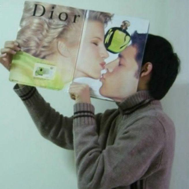 cium majalah